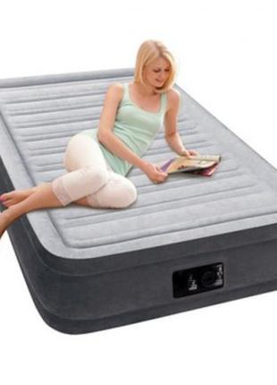 Надувная двуспальная кровать Intex 67766 Comfort (99-191-33см)...