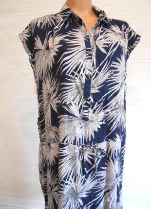 Красивое летнее платье из вискозы