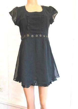 Супер красивое,легкое  платье на молнии