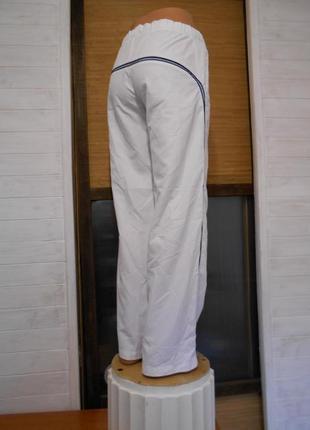 Спортивные легкие  штаны на сетке  m\l