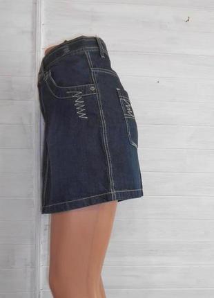 Милая новая джинсовая юбочка m-l