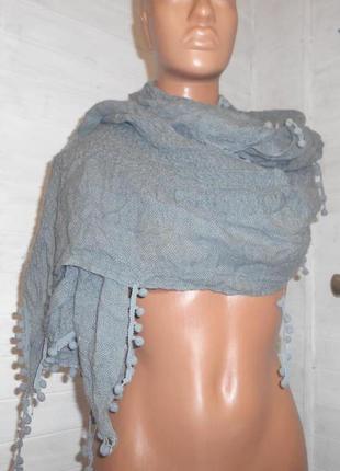 Шикарный,мягенький шарф