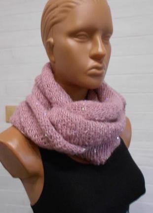 Шикарный шарф снуд