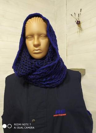Классный снуд,шарф-капюшон