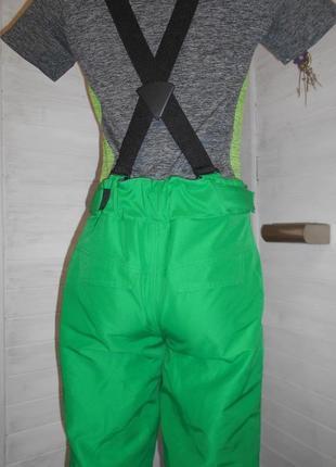 Красивые штаны для зимних видов спорта  m\l  рост 176 см