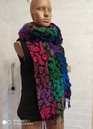 Супер сочный,няшный и мягкий шарф