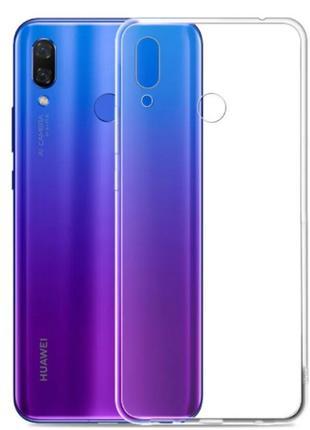 Силиконовый чехол для Huawei P Smart+/Nova 3i