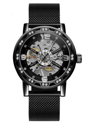 Forsining GMT1201 Black-Silver