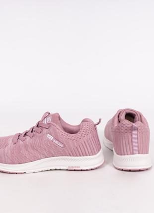 Кроссовки розовые женские в сеточку Adidas Neo