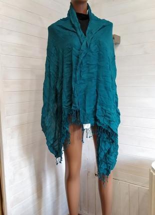Шикарный яркий шарф,пашмина индия
