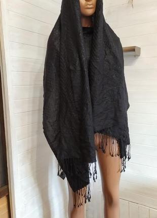 Красивый шарф,пашмина с переливами
