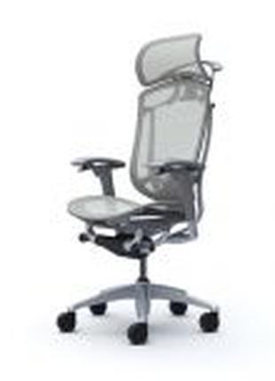 Кресло OKAMURA CONTESSA-2 SECONDA, Серый каркас, Light Gray