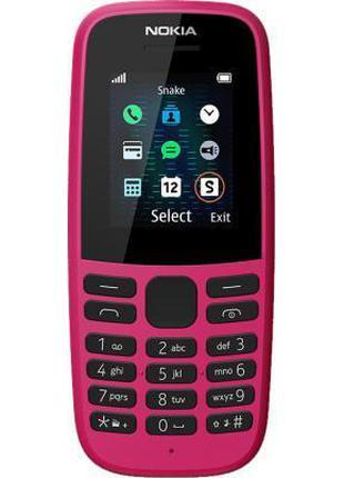 Мобильный телефон Nokia 105 DS 2019 Pink Plus