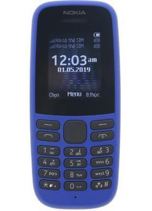 Мобильный телефон Nokia 105 DS 2019 Blue Plus