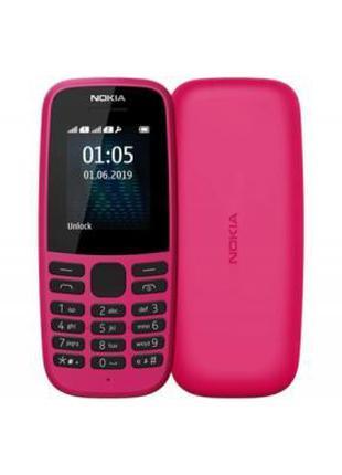 Мобильный телефон Nokia 105 SS 2019 Pink Super