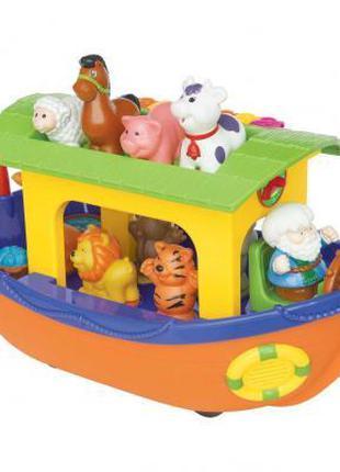 Развивающая игрушка Kiddieland Ноев Ковчег с животными на борт...