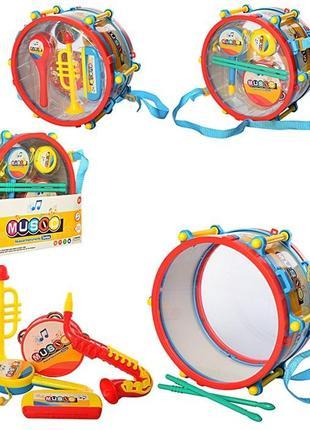 Набор детских музыкальных инструментов SF8122ABC ,3 вида