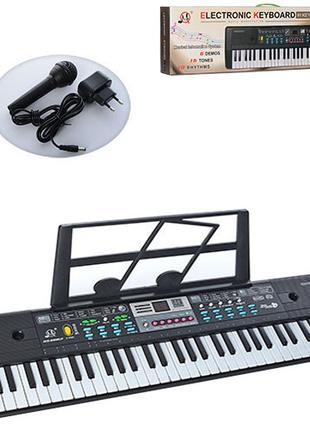 Детский синтезатор MQ022-23UF 61клавиша от сети