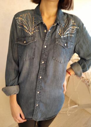 Рубашка джинсовая h$m