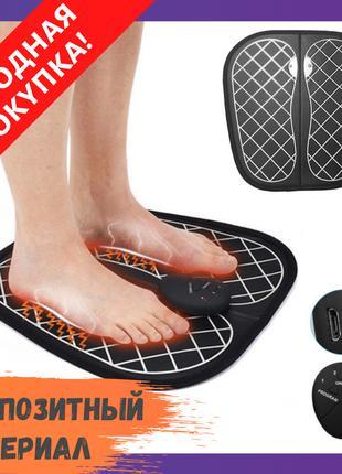 Электрический массажный коврик для ступней EMS / Ортопедически...