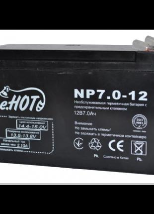 Аккумуляторная батарея к ИБП Enot 12В 7 Ач (2417)
