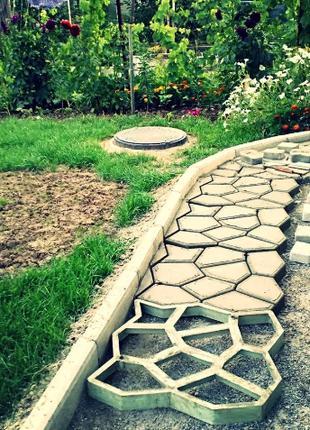 Формочка для кладки садовой дорожки / дорожка для сада / Садов...