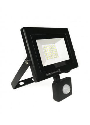 Светодиодный прожектор с датчиком движения 10W 6400K Pars/s-10