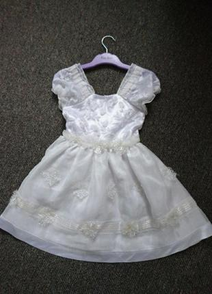 Платье снежинка ❄