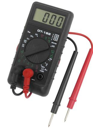 Цифровой мультиметр (тестер, вольтметр) DT-182