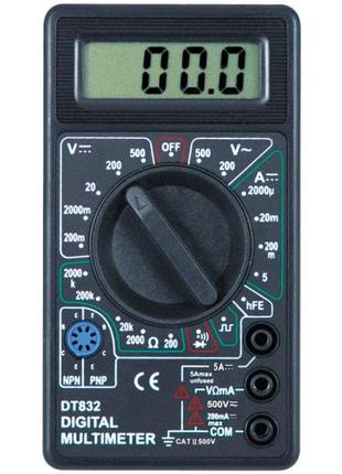 Цифровой тестер Digital DT-832 мультиметр