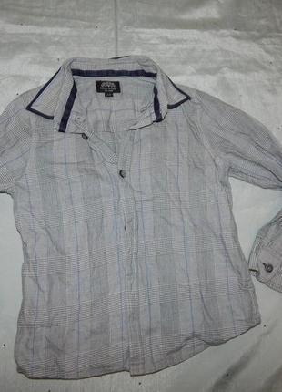 Рубашка модная на мальчика 4-5 лет