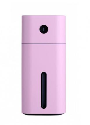 Ультразвуковой мини увлажнитель воздуха Розовый