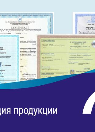 Сертификация в Украине   Оформление сертификата соответствия, СЭС