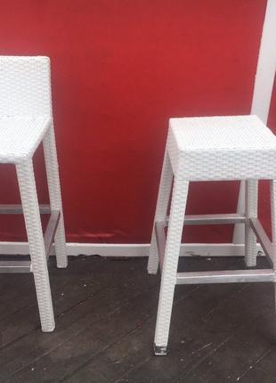 Барные Ротанговые стулья