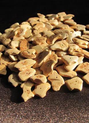 Кокосовые бусины-чипсы