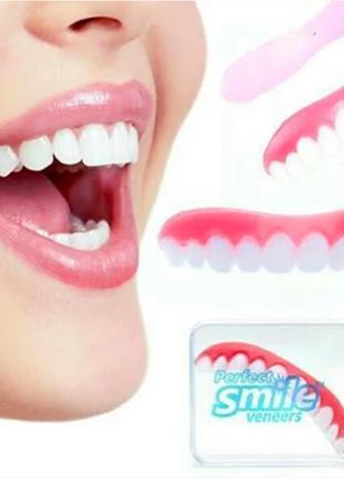 Съемные виниры для зубов Perfect smile veneers. Голливудская у...