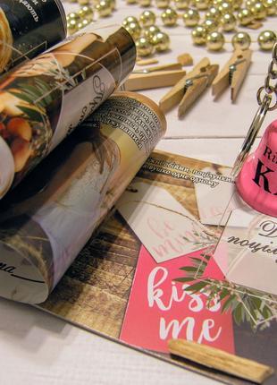♡ Подарок на годовщину ♡ Чековая книжка желаний для влюбленных