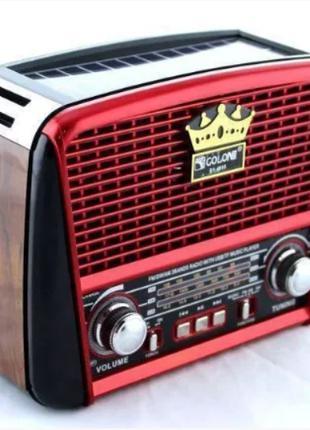 Радио RX 455 Solar, Портативный радио приемник - MP3 колонка, ...