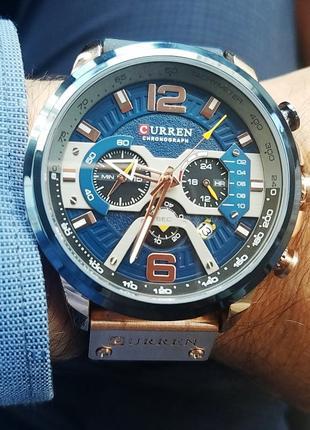 CURREN Мужские брендовые часы ОРИГИНАЛ