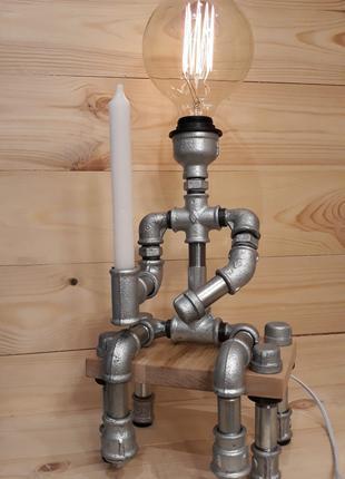 Светильник Настольная лампа Лофт Стимпанк Loft Steampunk PSML_040