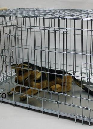 Клетка для перевозки собак