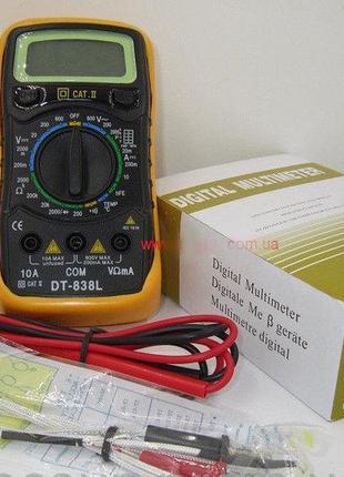 Мультиметр универсальный TS 838 L