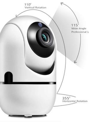 WiFi IP-Камера Видеонаблюдение со смартфона Видеоняня Cloud st...