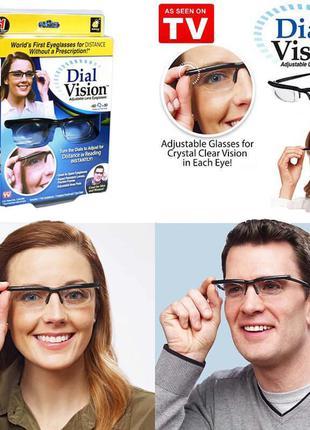 Увеличительные очки с Регулировкой линз от -6 D до +3 D . Лупа...