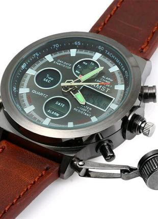 Армейские наручные часы AMST: AM 3003 silver