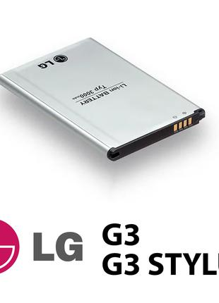 Аккумулятор LG G3/G3 Stylus (BL-53YH), батарея лж ж3 стилус д8...