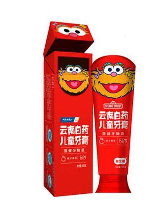 Набір зубних паст для дітей 6-12 років з персиковим смаком, 60гр