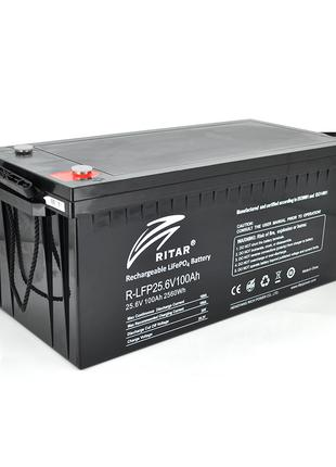 Акумуляторна батарея Ritar LiFePO4 25,6V 100Ah