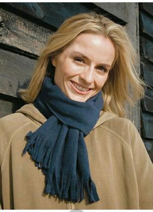 Зимний теплый флис шарф бренда results essentials