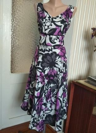 80 Красивое платье-сарафан!!новое!!,м-ка